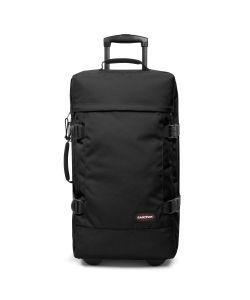 Eastpak | Tranverz Medium Black Wheeled Suitcase