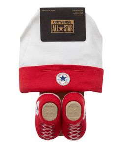 Converse | New Born Hat And Booties Gift Set