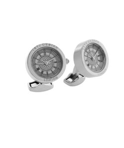 Tateossian | Stainless Steel Stainless Steel Plated Cufflinks