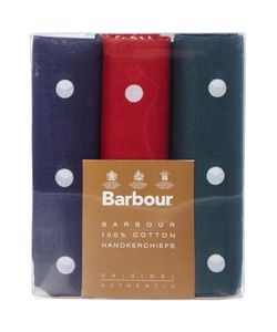 Barbour | Spot Handkerchief Boxed Gift Set