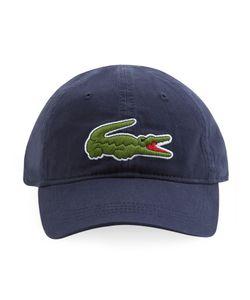 Lacoste | Gabardine Cap With Oversized Crocodile