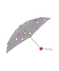 Lulu Guinness | Spot On Stripe Tiny Umbrella