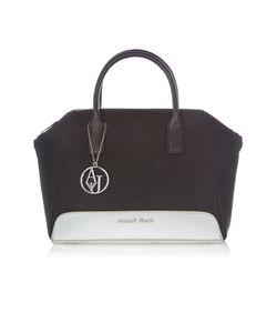Armani Jeans | Specchiato Black Tote Bag