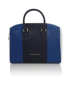 Armani Jeans | Eco Saff Blue Stripe Tote Bag