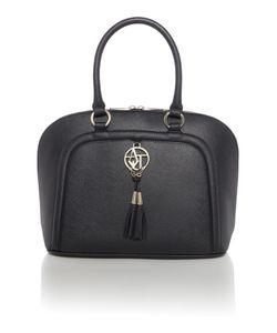 Armani Jeans | Black Saffiano Dome Bag