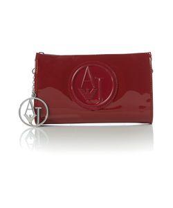 Armani Jeans | Red Clutch Bag