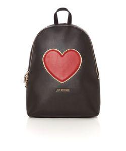 Love Moschino | Heart Black Backpack