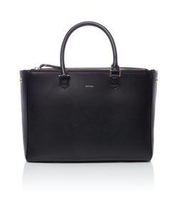 Paul Smith London   Double Zip Black Tote Bag