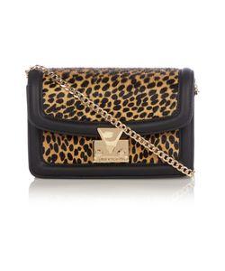 Matthew Williamson   Countess Black Leopard Mini Cross Body Bag