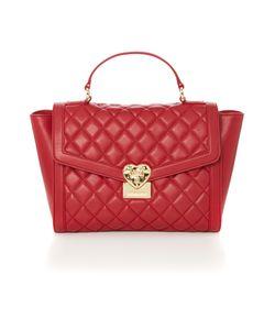 Love Moschino | Superquilt Red Medium Tote Bag