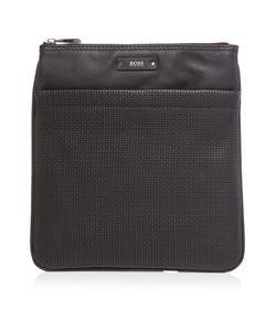 HUGO BOSS | Traveller Textured Leather Bag