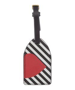 Lulu Guinness   Multi 5050 Stripe Luggage Tag