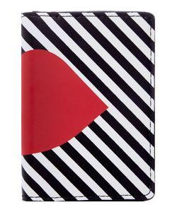 Lulu Guinness   Multi 5050 Stripe Lip Card Holder