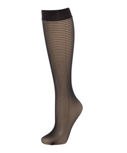 Wolford | Grid Knee High Socks