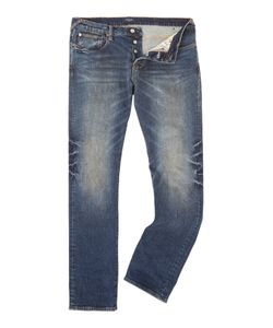 Paul Smith | Mens Tapered Fit Mid Wash Jeans