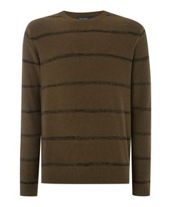 Paul Smith   Mens Crew Neck Striped Knitted Jumper