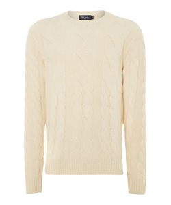 Paul Smith   Mens Cable Knit Crew Neck Jumper