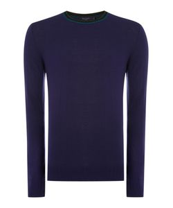 Paul Smith | Mens Triple Tip Collar Merino Knitted Jumper