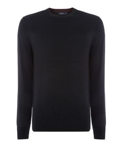 Paul Smith | Mens Crew Neck Cotton Merino Knitted Jumper