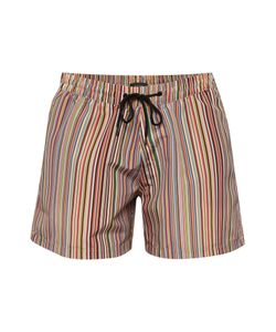 Paul Smith | Mens Multistripe Classic Length Swim Shorts