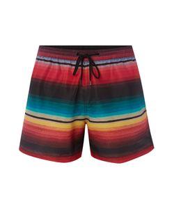 Paul Smith   Mens Printed Stripe Short Length Swim Shorts