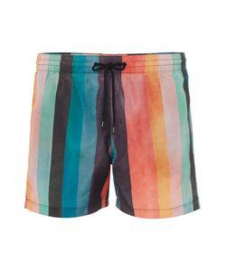 Paul Smith   Mens Wide Multistripe Swim Shorts