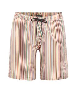 Paul Smith | Mens Multistripe Long Length Swim Shorts
