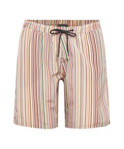 Paul Smith   Mens Multistripe Long Length Swim Shorts