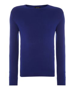 Paul Smith   Mens Plain Crew Neck Pull Over Jumpers