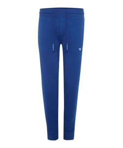 Armani Jeans | Mens Tapered Fit Badge Logo Tracksuit Bottoms