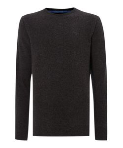 Barbour | Mens Essential Lambswool Crew Neck