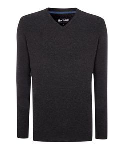 Barbour | Mens Essential Lambswool V Neck