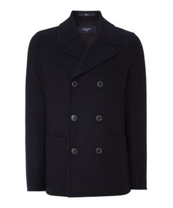 Paul Smith | Mens Double Breasted Peacoat