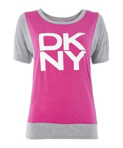 DKNY | Mix And Match Short Sleeved Jersey Top