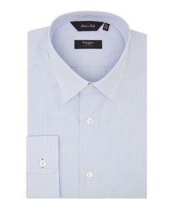 Paul Smith London   Mens Stripe Slim Fit Long Sleeve Classic Collar