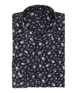 Paul Smith London   Mens Floral Slim Fit Shirt