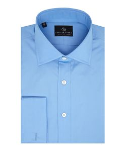 Chester Barrie | Mens L/S Contemp James Plain Poplin Shirt D/C
