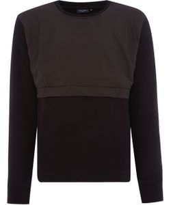 Paul Smith | Mens Crew Neck Nylon Pocket Sweatshirt