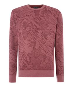 Paul Smith | Mens Regular Fit All Over Print Sweatshirt