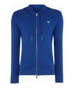 Armani Jeans | Mens Badge Logo Zip Up Tracksuit Top
