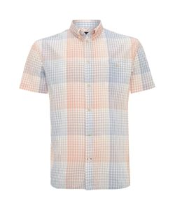 Paul Smith Jeans | Mens Graph Check Print Short Sleeve Shirt