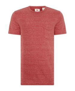 Levi's | Mens Regular Fit Space Dye Pocket T Shirt
