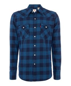 Levi's | Mens Barstow Western Slim Fit Plaid Shirt