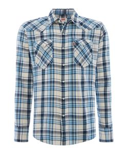 Levi's | Mens Slim Fit Barstow Western Check Long Sleeve Shirt