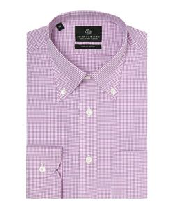 Chester Barrie | Mens Check Tailored Fit Long Sleeve Shirt