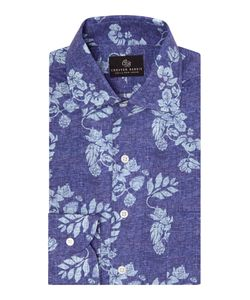 Chester Barrie | Mens Floral Tailored Fit Long Sleeve Shirt
