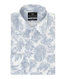 Chester Barrie | Mens Peter Paisley Long Sleeve Shirt