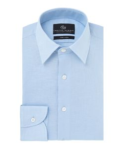 Chester Barrie | Mens Peter Contemporary Fit Linen Shirt