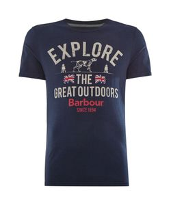 Barbour | Mens Explorer The Great Short Sleeve Tshirt