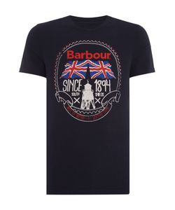 Barbour | Mens Short Sleeve Graphic Tee With Uniopn Jack Print